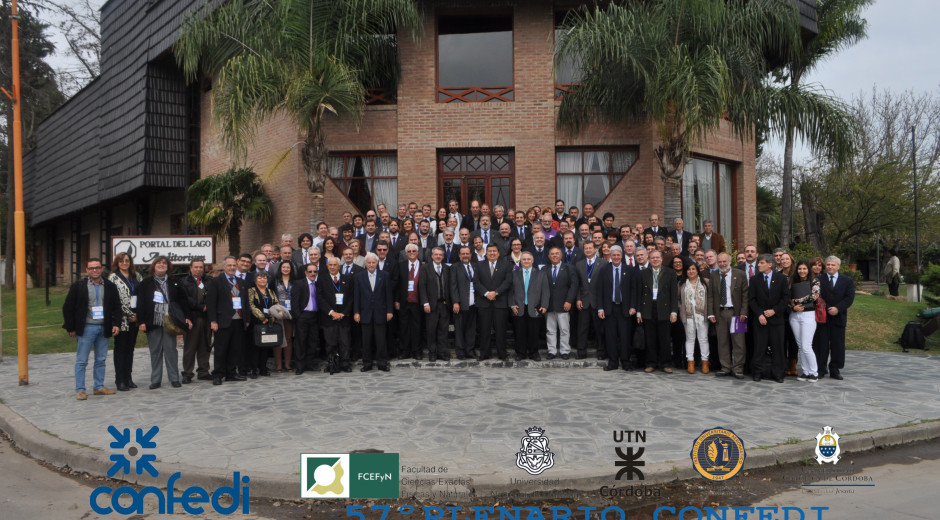 57º Reunión Plenaria de CONFEDI 6, 7 y 8 de mayo – Villa Carlos Paz, Córdoba