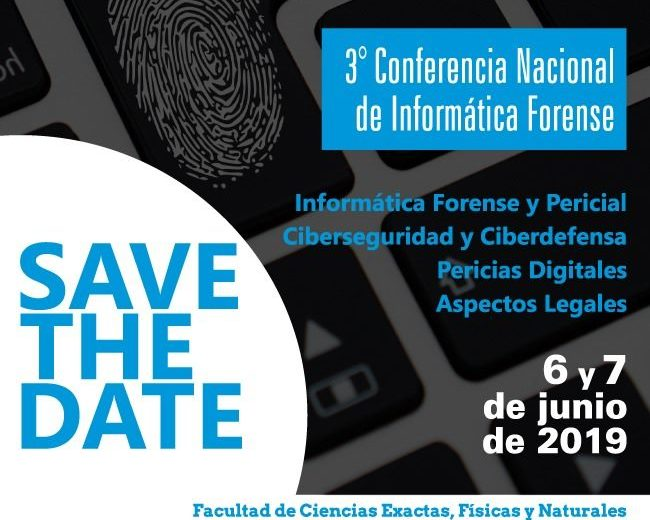 Llega la 3° Conferencia Nacional de Informática Forense