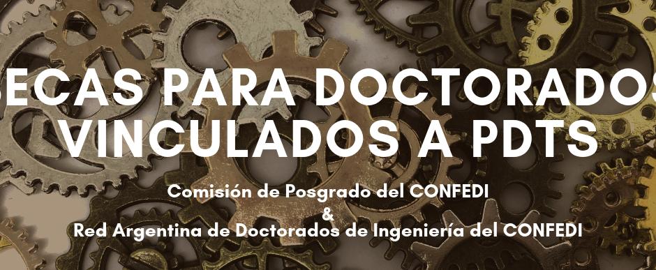 Programa de Becas para Doctorados de Ingeniería vinculados a PDTS – RADoI